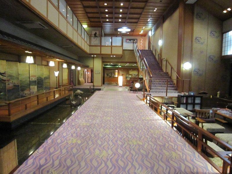 Inside Hotel Yagi....spacious