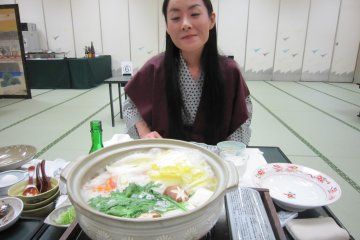 The Crab Shabu Shabu I've been waiting for! It wasn't Echizen Crab but it was delicious!