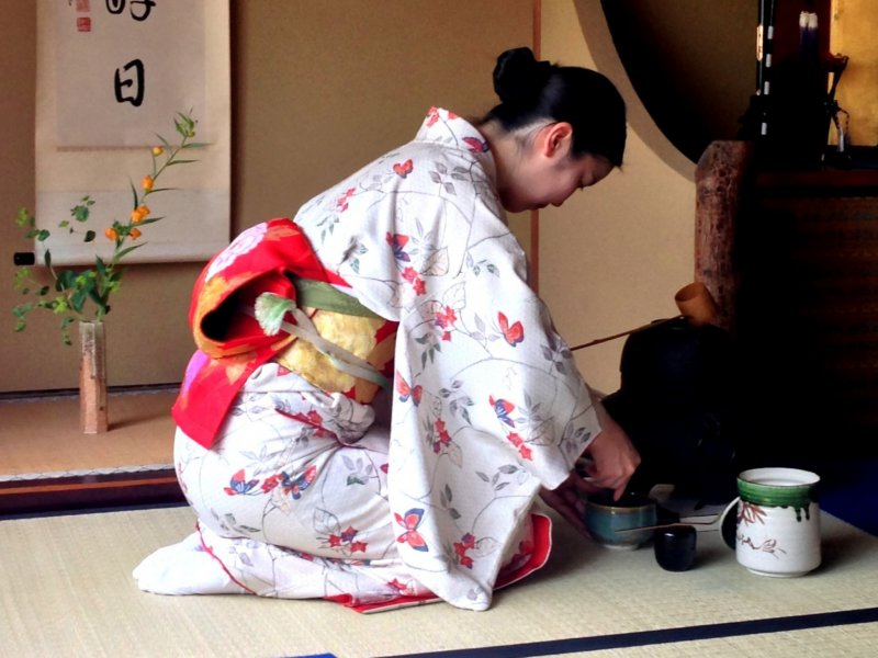 Calm, disciplined, and elegant, the Camellia tea ceremony was bewitching to experience.