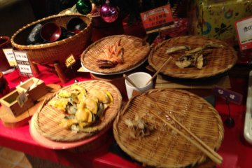<p>Vegetable tempura</p>