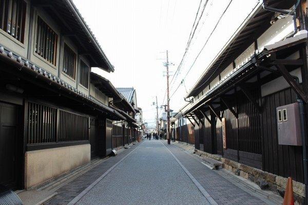 京都伏見「黄桜」蔵元前