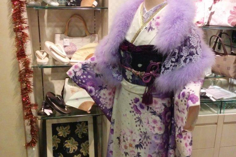 Ichiru Kimono Shop in Nihonbashi