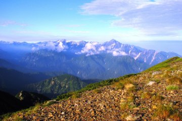 Climbing Mount Karamatsu