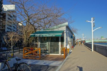 Sumida Park Open Cafe