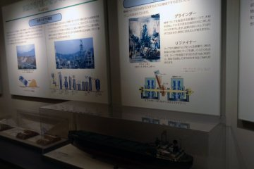 <p>Exhibit signs in the museum are in Japanese, but English speakers are also given attention with a pamphlet&nbsp;and several small, free booklets about the museum in English at the front desk.&nbsp;</p>