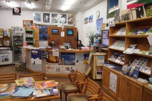 The Tourist Information Center of JR Furano has staff that can attend to you in English, Chinese, and Japanese.