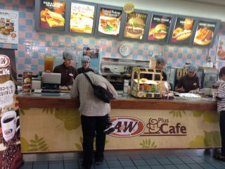 Most locations are now branded as A&W plus Cafe, emphasizing its long time standing as a place for people to linger for hours at a time while drinking freshly brewed coffee and chatting with friends
