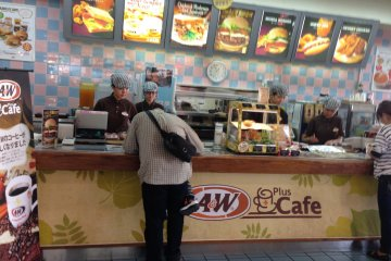 Most locations are now branded as A&W plus Cafe, emphasizing its long time standing as a place for people to linger for hours at a timewhile drinking freshly brewed coffee and chatting with friends
