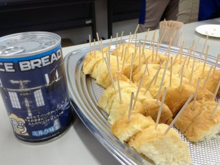 Space bread comes from a can.