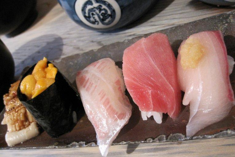 Endo Sushi ở Osaka