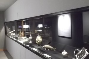 More displays in the exhibition rooms
