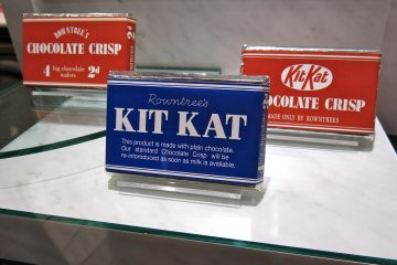 <p>Original packaging of the Kit Kat bar</p>