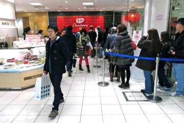 <p>KitKat Chocolatory is located on the ground floor of Seibu Ikebukuro</p>