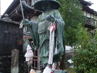 Kobo Daishi Statue