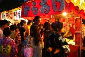 Greasy, delicious festival food!