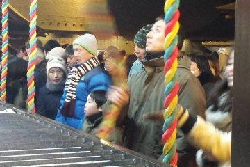 <p>Hundreds, if not thousands of visitors come to wish for a new year filled with luck and to thank the deities for their continued blessings.</p>