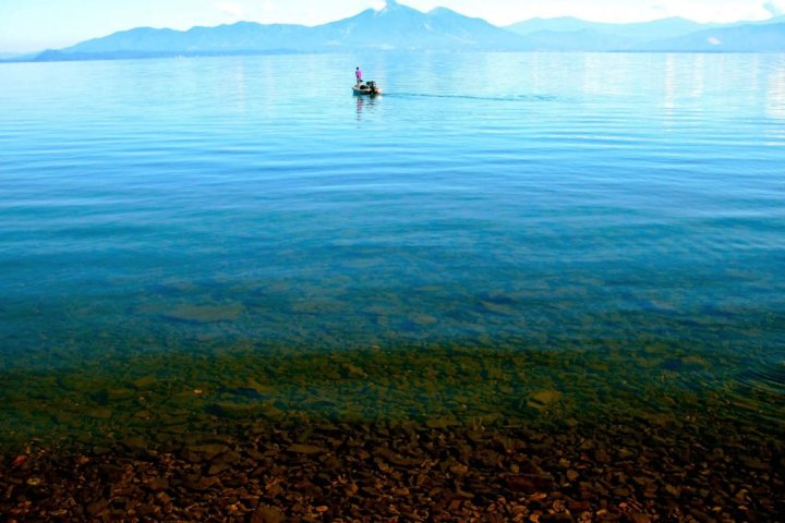 Finding Lake Inawashiro