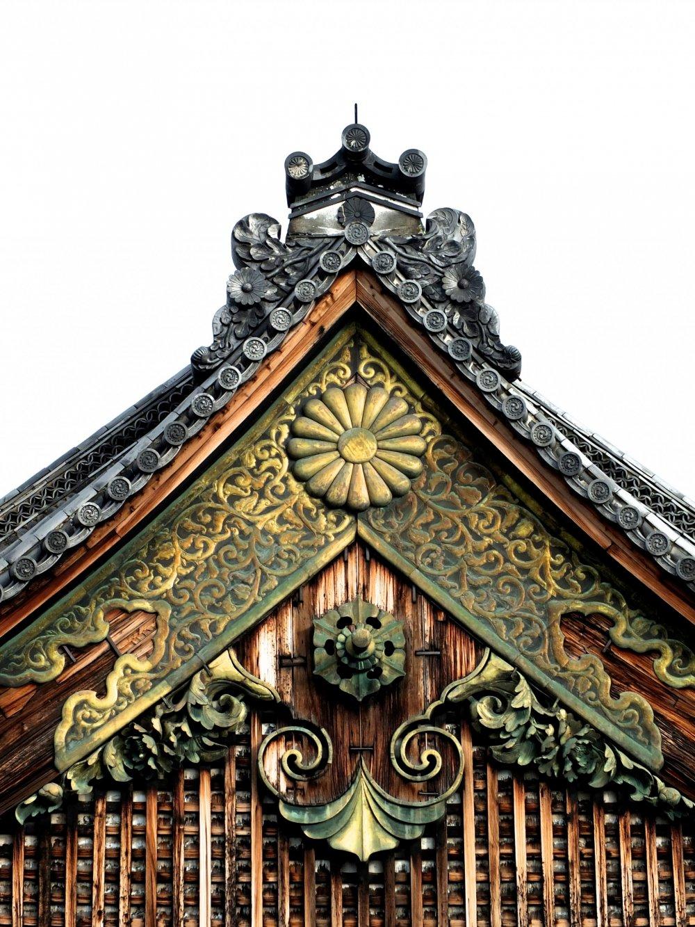 二の丸御殿の壮麗なアーチ