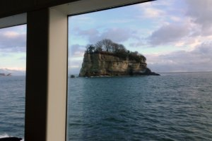 The cruise gives visitors views of the islands you are not able to see from port.