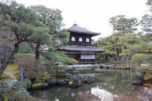 銀閣の庭園
