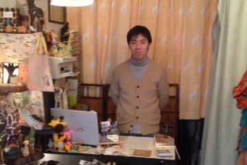 <p>Hiroshige the shopkeeper</p>