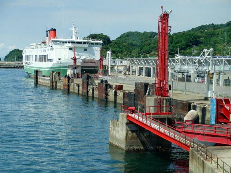 Matsuyama Kokura Car Ferry Ehime Japan Travel Tourism