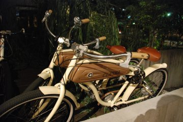 <p>Bikes can be rented by guests to&nbsp;explore&nbsp;the local&nbsp;Meguro&nbsp;neighborhood.</p>