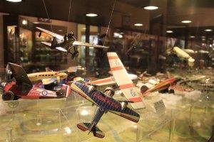 เครื่องบินจำลองขนาดเล็กที่มีหลากหลายรุ่นให้ได้ชม