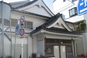 The entrance to SCAI The Bathhouse