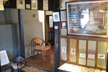 Rickety entrance hall full of treasures