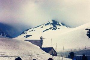 อีกมุมหนึ่งของภูเขา Tateyama