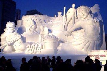 Sapporo Snow Festival 2014 ล่าสุด!!
