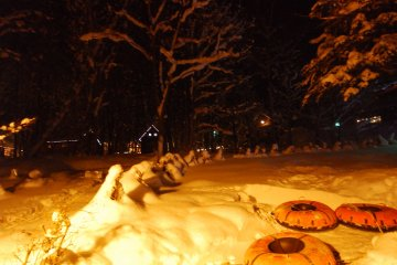 <p>หน้าตาของเจ้า Snow Tubing</p>
