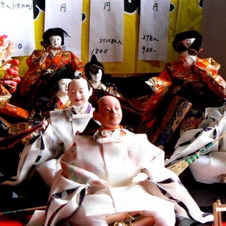 Lễ hội búp bê ở Takatori-cho