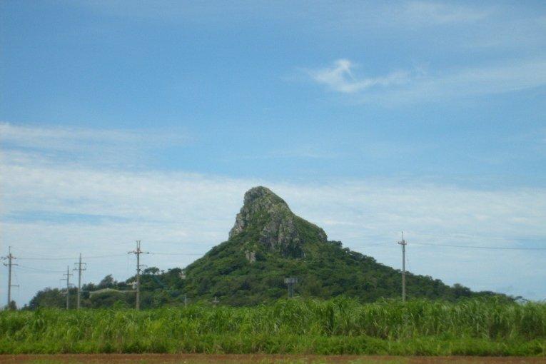 Núi Gusuku, Ie-Jima