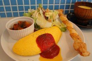 Omelet Japanese style