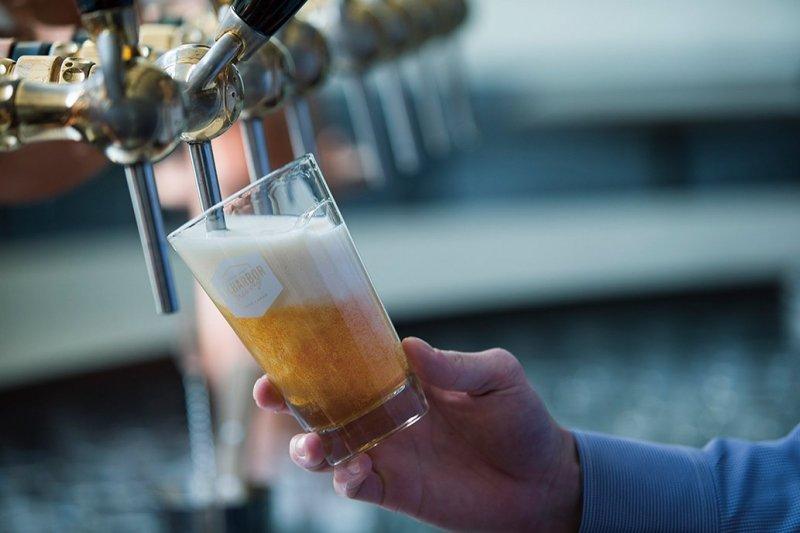 Craft beers and craft beer cocktails