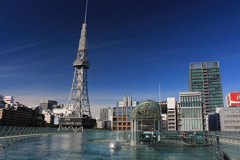 Nagoya TV Tower seen from Oasis 21