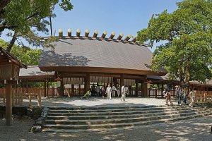Atsuta Shrine panorama