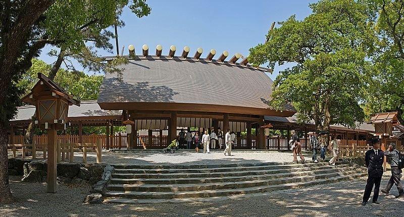 Atsuta Shrine panorama