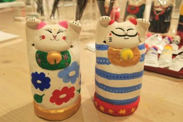 Okayama: Manekineko Art Museum and Workshop