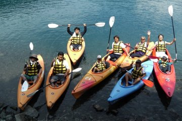 Mt Fuji Kayak and Hiking Outdoor Experience