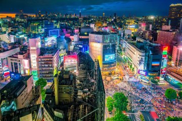 Shibuya By Night Virtual Tour