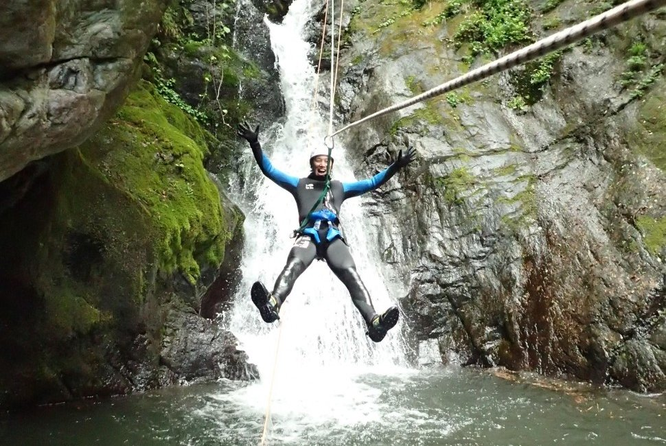 Canyoning Big Holy Course